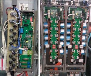 Элементы шкафа преобразователя ВИП-630 номинальной мощностью 800 кВт