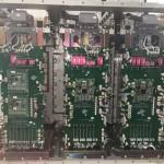 Контроллеры в шкафе управления